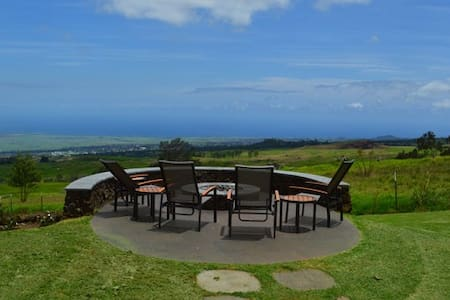 Coast to coast views, gorgeous upcountry home - Kula - Ház
