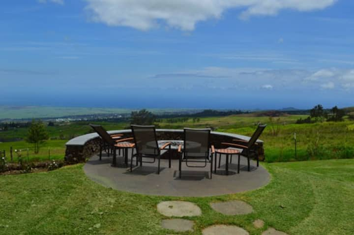 Coast to coast views, gorgeous upcountry home