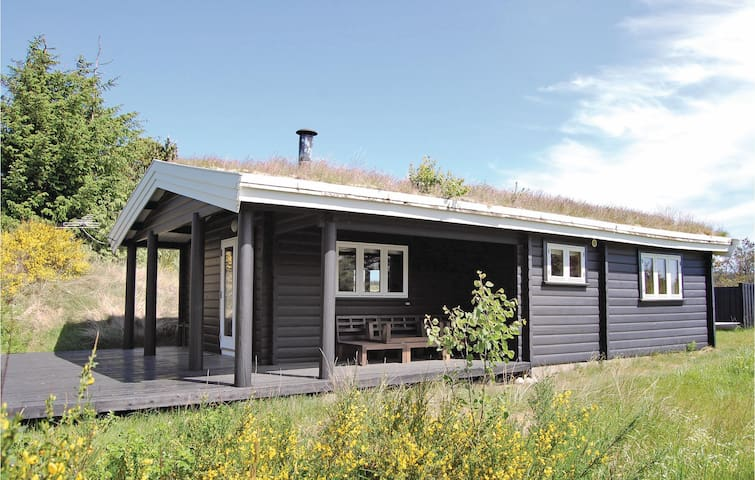 Holiday cottage with 2 bedrooms on 50 m²