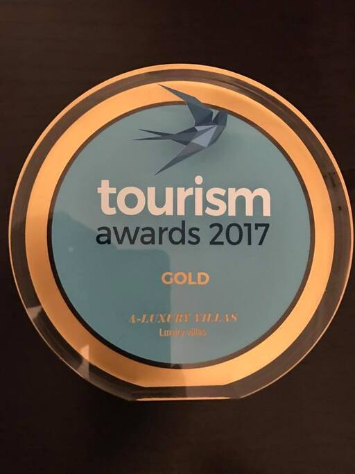 GOLD TOURISM AWARD 2017