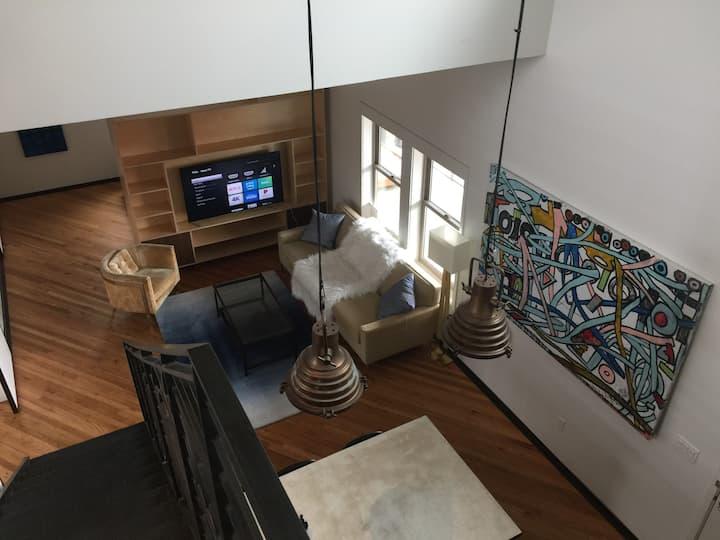 Bishop Arts Lofts Unit 9 Grand Penthouse Suite