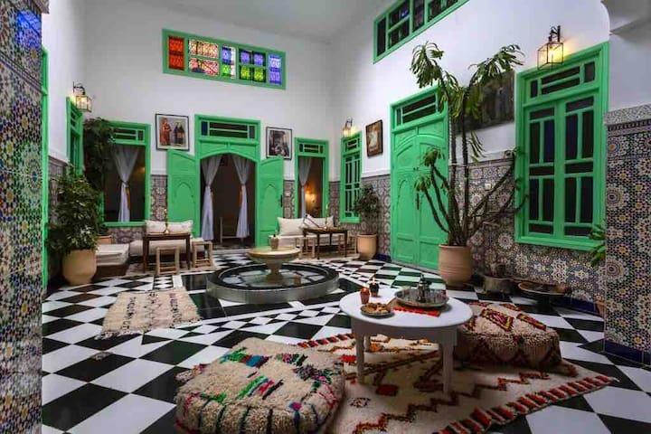 Riad Rose Meryam Chambre Touareg