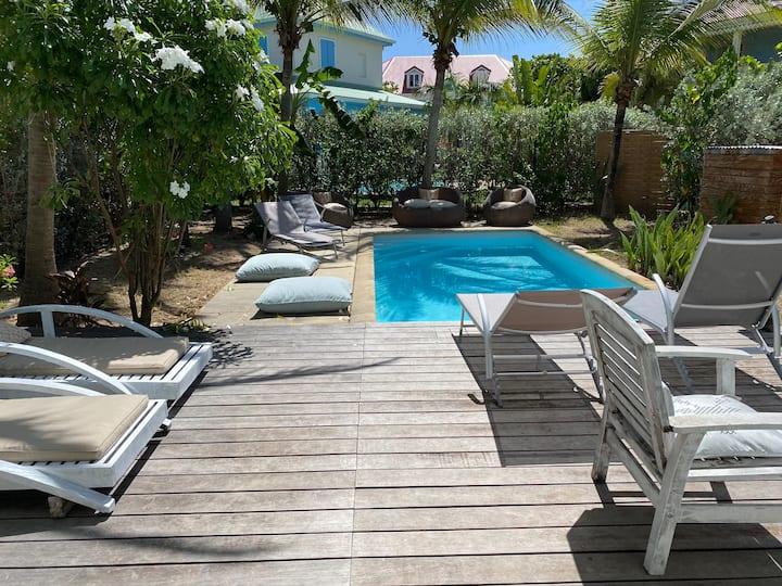 VILLA KIRICOU : 6 pers , piscine , bord de mer !