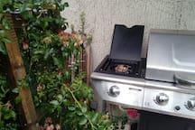 Possibilité de cuisiner au gaz si location à la semaine
