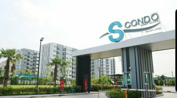 S-condo mahachai 32 m2 most spacious