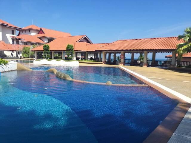 Kuantan Tembeling Resort - Sea View Villa