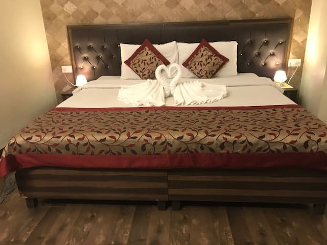 Elegantly Designed Rooms in Central Delhi!