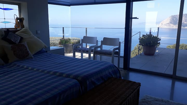 Suite con magnificas vistas accesible minusvalidos