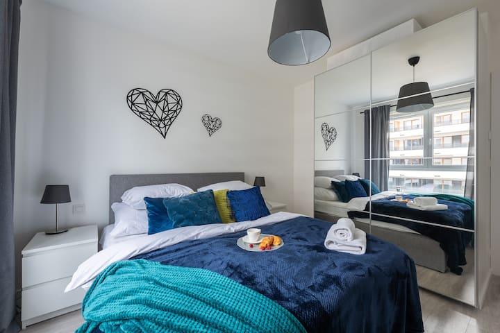 2 Bedroom Modern apartment on Komputerowa 9 street