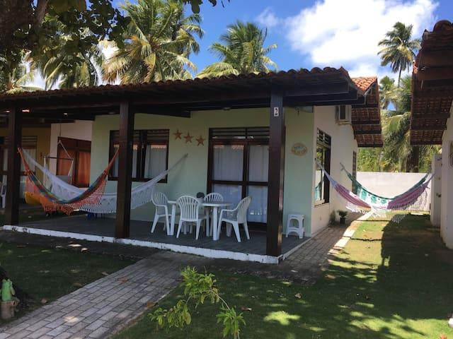 Linda casa em Maragogi com WI-FI, SKY e CAIAQUE.