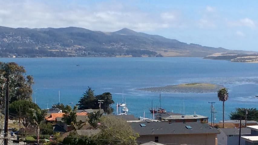 """Spectacular"" Bay View amongst a beautiful garden. - Morro Bay - Casa"