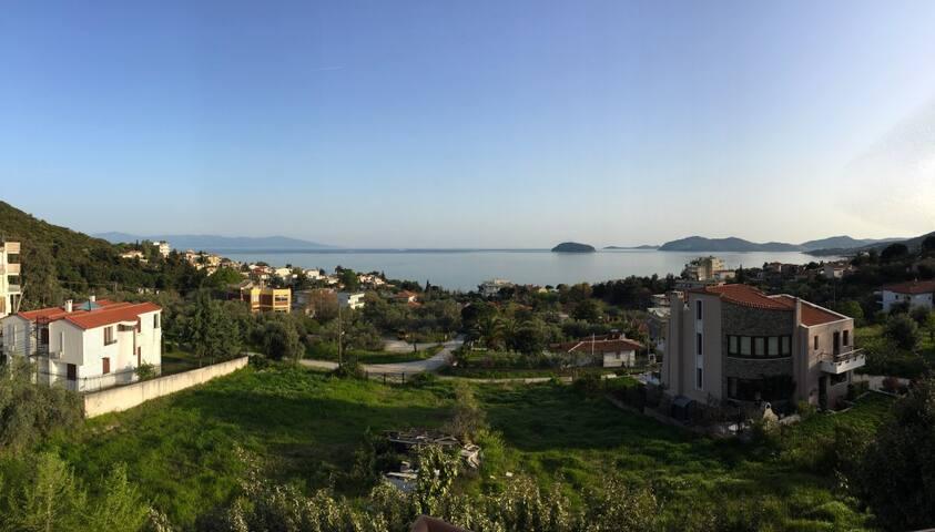 Μεζονέτα με υπέροχη θέα στο Παληό - Paleo Tsifliki - Appartement en résidence