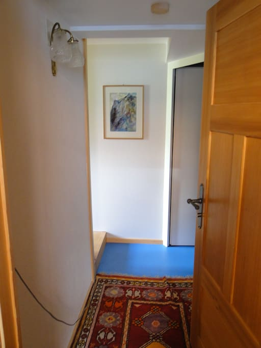 Entrance into the apartment