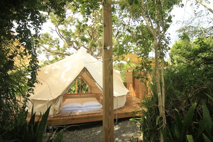Pitahaya Glamping - 1 Queen bed