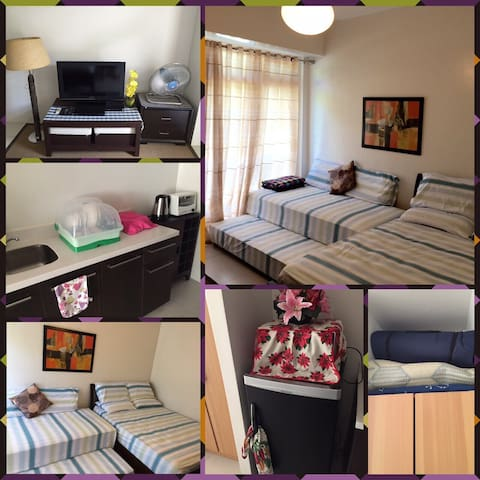 Pico de loro Studio unit for 4persons  ^_^ - Nasugbu