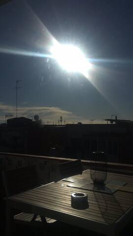 Sunny cosy penthouse barcelona