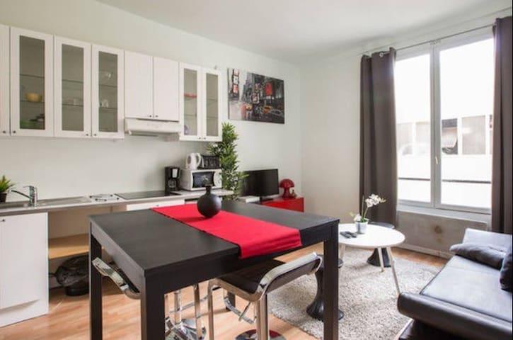 Appartement de 2 pièces au coeur de Paris - Paryż - Apartament