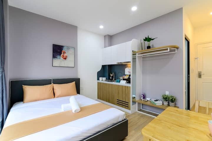 Cozrum Homes - 1BR w Saphera Room @ Unique Design