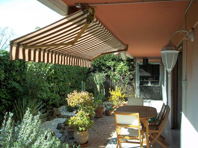 Beau 3 pièces rez de jardin - Cagnes-sur-Mer - Apto. en complejo residencial