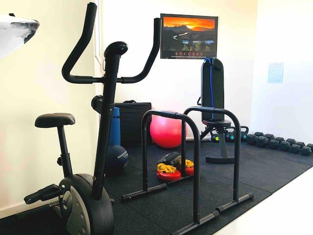 Small Personal Fitness Studio