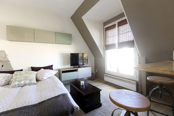 Charmant studio 20 m2, sous toits - Paryż