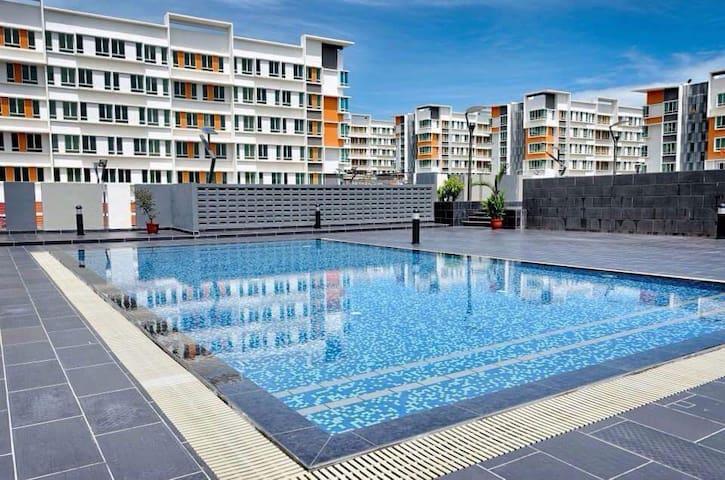 QUIN CONDOMINIUM HOMESTAY - Kota Kinabalu - Appartement