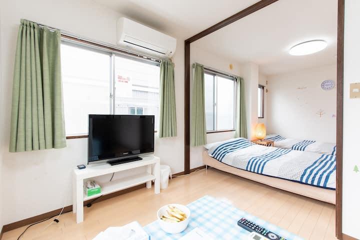 Good access to Tokyo Ueno/LocalStay/Free Wifi/056