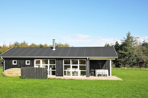 Modern Holiday Home in Øster Assels With Roofed Terrace