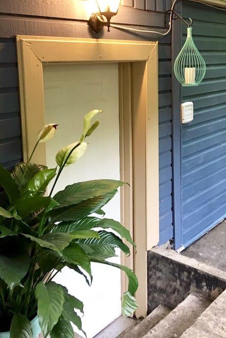 Private suit entrance