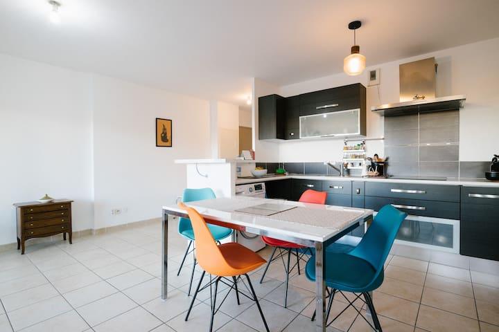Bel appartement avec terrasses dans le 8eme