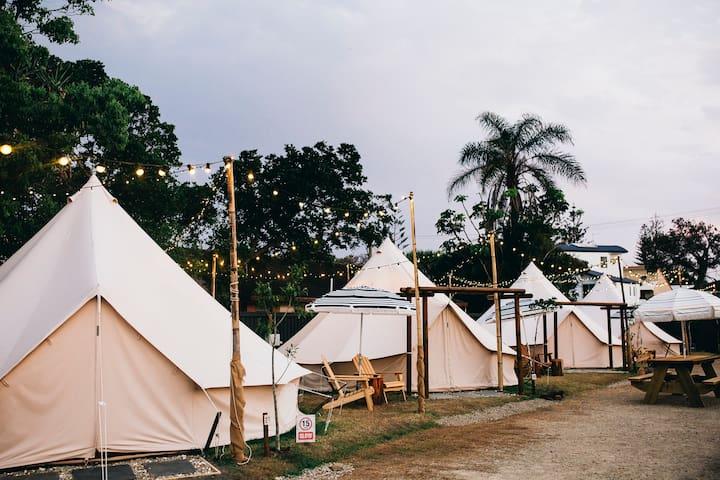 Luxury Outdoor Hotel - Bigger is Better Bell Tent