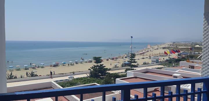 Appartement Pied sur mer a Cabonegro