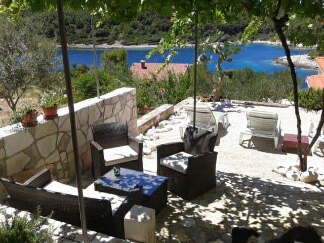 Villa on island Korčula - Vela Luka - Wohnung