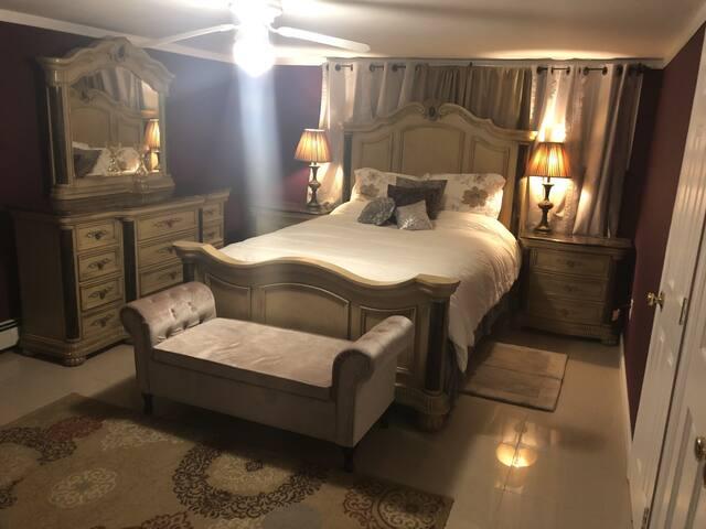 Weekend room. Bed and breakfast