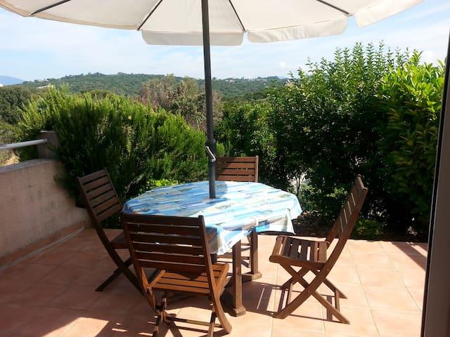 Apt T2 indépendant dans villa, à 400m des plages - Albitreccia - Apartment