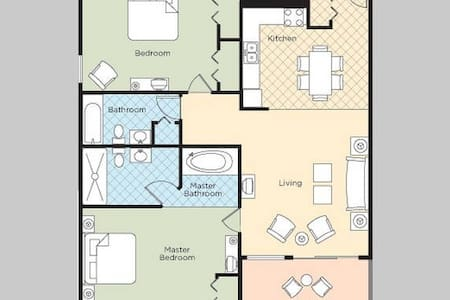Wyndham Skyline Tower 2x2Br - Atlantic City
