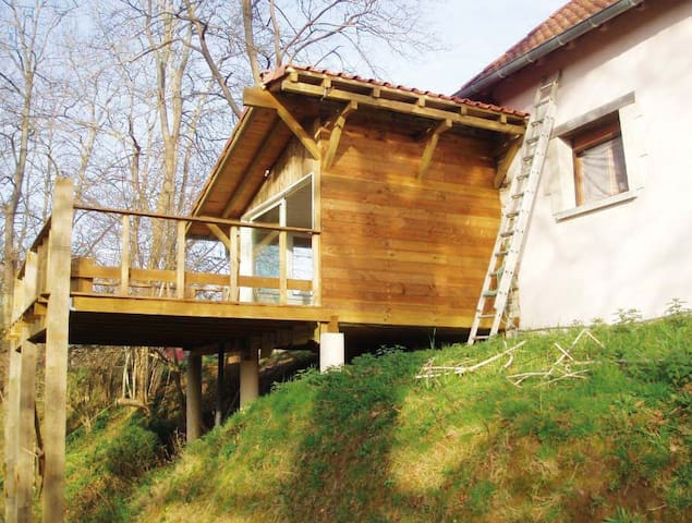 Studio meublé, vue sur la forêt - Saubusse - Apartment