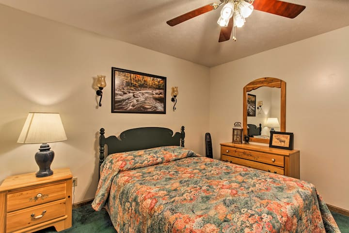 Each room includes ample closet space and comfortable beds.