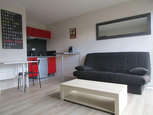 Joli studio rénové en 2016 en hyper centre - Saint-Brieuc - Appartement