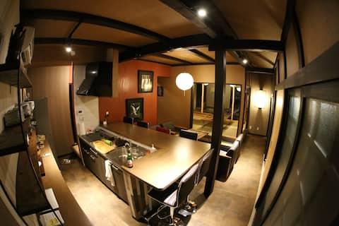 Kishida House 一階和室