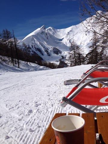 Coeur station la Foux(04) hiver/été - Allos