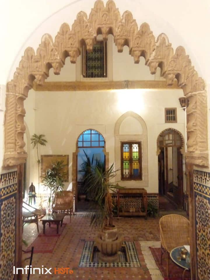 Suite room in riad