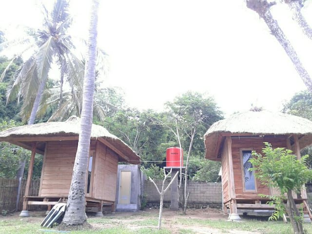 Papaya lodge is suitable for coupel - Central Sekotong