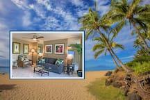 Cute condo 3 blocks to best beaches in Kihei, Maui