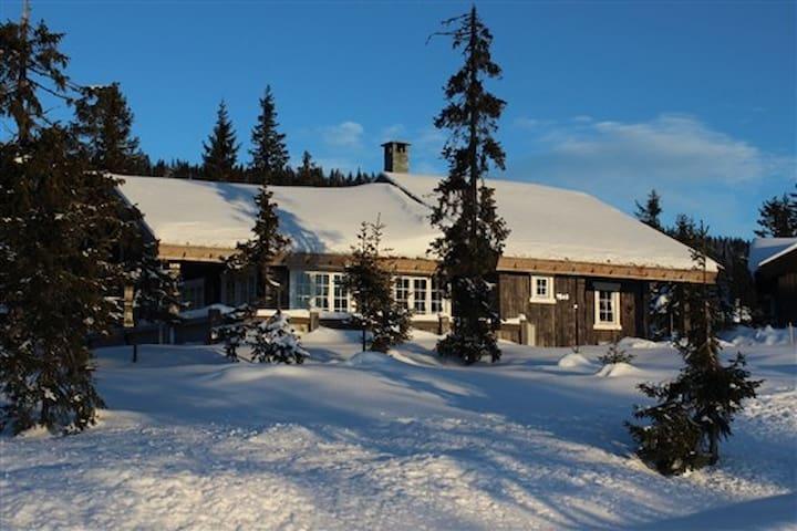 Large nice Cabin at Sjusjøen - Ringsaker