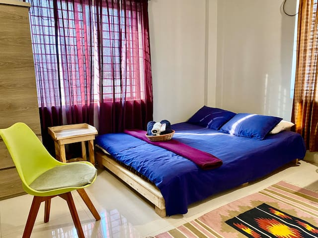 ✽Cozy Room+Safe+Airport+AC+WiFi near Gulshan