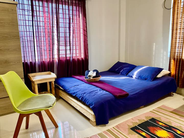 ✽Safe+Cozy Room+AC+Wifi near Airport Gulshan