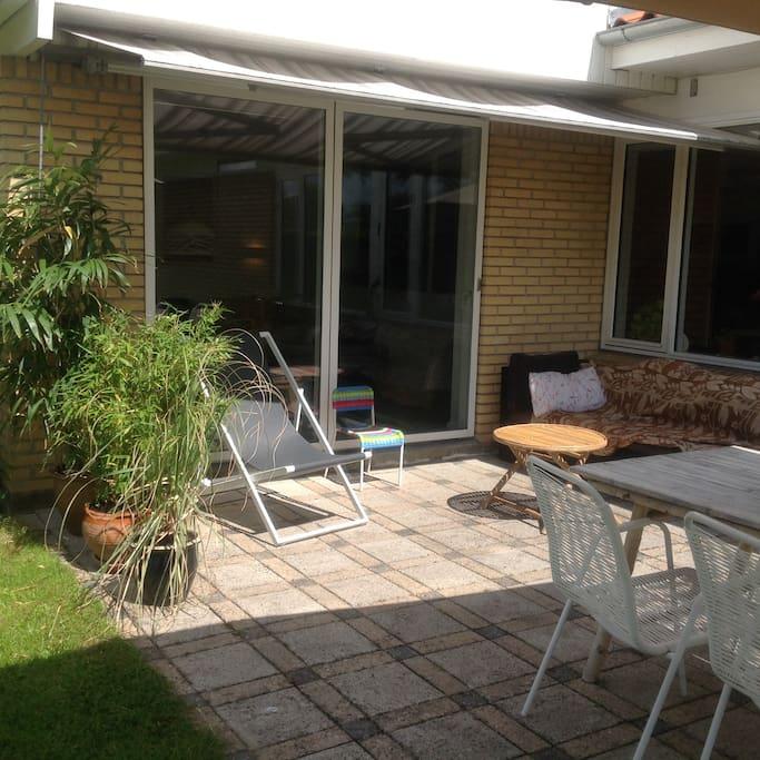 garden pation