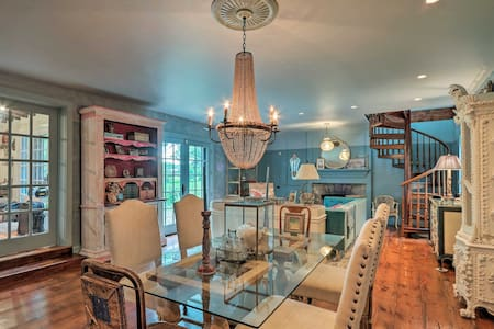 Stunning Stockton Home by the Delaware River!