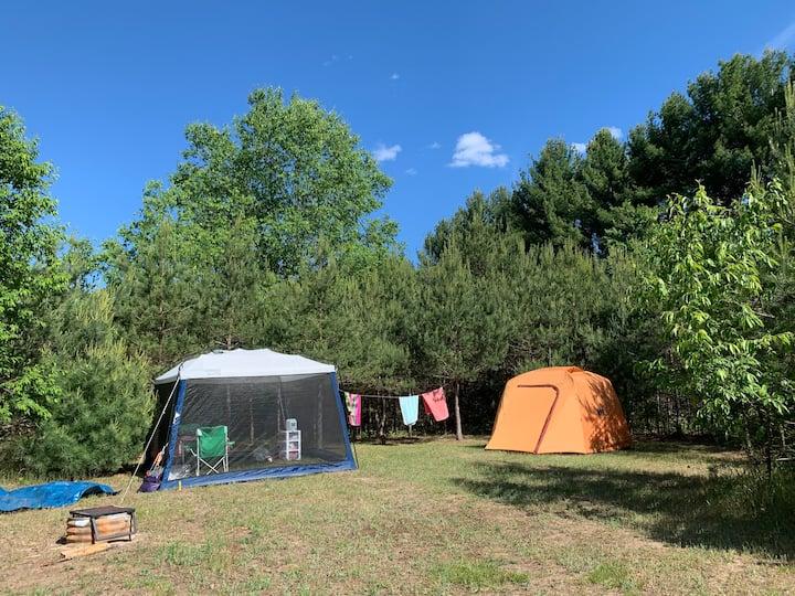 Social Distancing Largest Campsite @ Camp Squid 31
